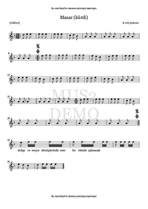 Masar - Le Trio Joubran by Tatar